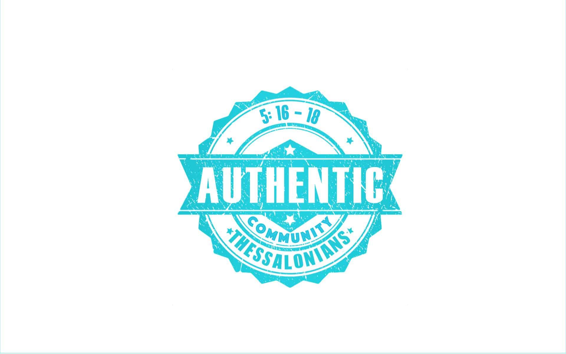 Authentic Community #3