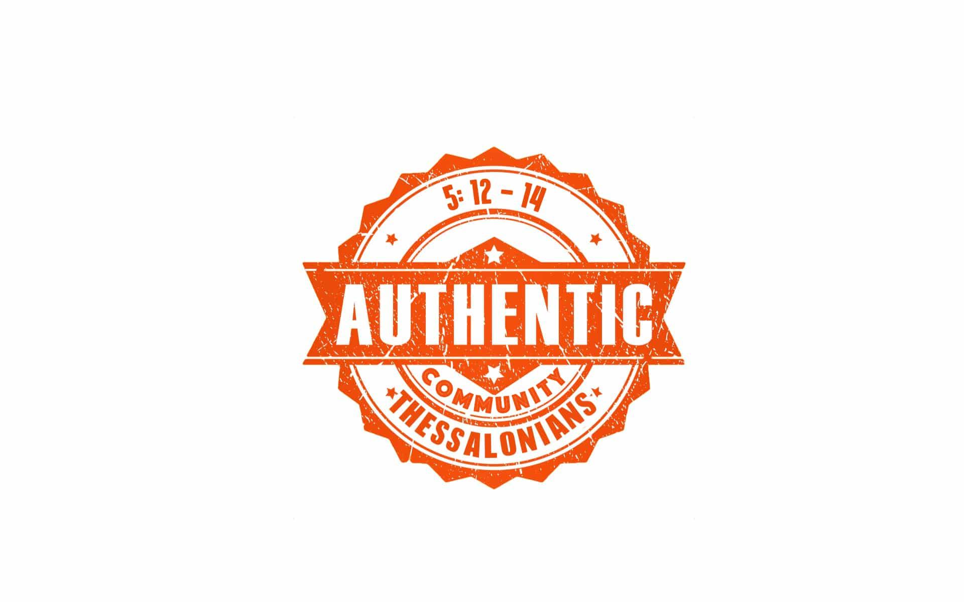 Authentic Community #1