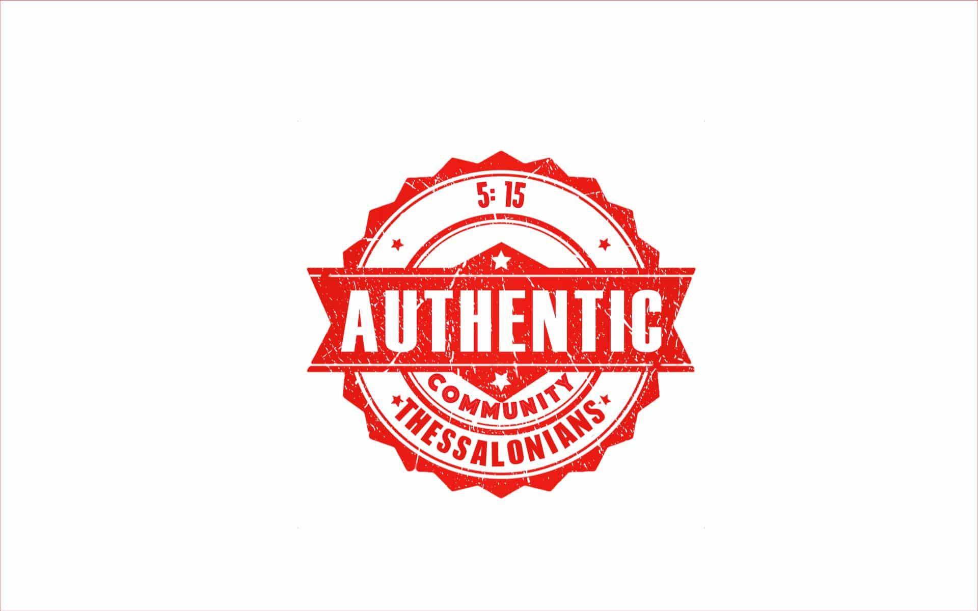 Authentic Community #2